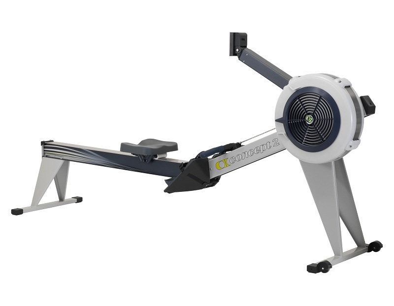Indoor Rower Model E met PM5, grijs
